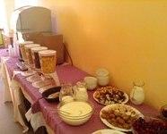 фуршетний стіл дитячий табір MURITE BEACH БОЛГАРІЯ BULGARY Клуб Мандрівників