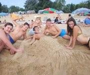 пісок дитячий табір MURITE BEACH БОЛГАРІЯ BULGARY Клуб Мандрівників