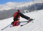 маленькая лыжница Буковель Карпаты Новый Год Рождество Клуб Мандривныкив Bukovel New Year Cristmas