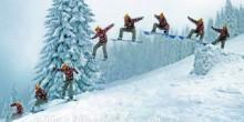 сноуборд на Буковеле Карпаты Новый Год Рождество Клуб Мандривныкив Bukovel New Year Cristmas