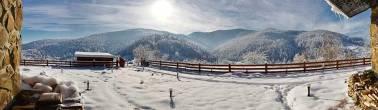 Панорама з Radisson Blu Resort Буковель Карпати Новий Рік Різдво Клуб Мандрівників Bukovel New Year Cristmas