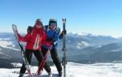 профі на лижах Закарпаття зима Клуб Мандрівників