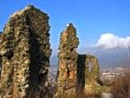 руины замка в ХУСТЕ Закарпатские Вытребеньки экскурсионный тур в Карпатах Клуб Мандривныкив