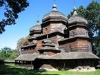 дерев'яна церква Святого Юра ДРОГОБИЧ НОВОРІЧНІ ТУРИ Карпатські Витинанки Клуб Мандрівників