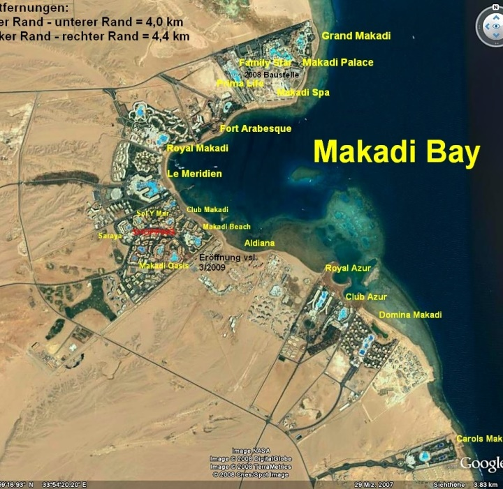 карта туристична Макаді Бей ЄГИПЕТ Tours in EGYPT тури в Єгипет Makadi Bay Egypt Клуб Мандрівників