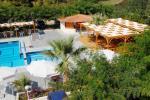 вигляд з вікна Афродіті готель (APHRODITI HOTEL) Кассандра (Kassandra) Халкідіки Греція Клуб Мандрівників