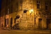 на углу улицы Краковской экскурсионный тур по Львову Улочками Древнего Львова Клуб Мандривныкив UKRAINE LVIV