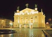 Оперный Театр ЛЬВОВ экскурсионный тур Замки и Дворцы Львовщины Клуб Мандривныкив LVIV UKRAINE