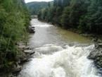 водопад Пробой ЯРЕМЧЕ Гуцульские Коломыйки 1 мая Майские праздники в Карпатах Клуб Мандривныкив