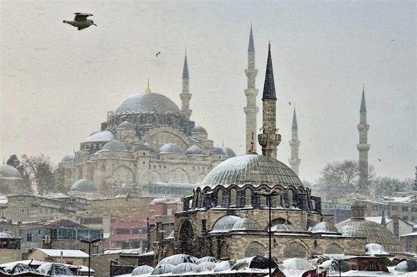 Зима Стамбул ТУРЕЧЧИНА Тури на Близький Схід Автобусні тури в Туреччину Клуб Мандрівників