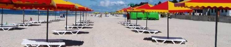 пляж Железный Порт отдых в Железном Порту автобусный рейс в Железный Порт со Львова Клуб Мандривныкив