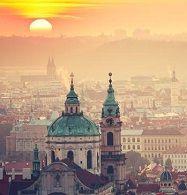 Прага пейзаж ЧЕХІЯ Екскурсійні туры в Европу Автобусні тури в Чехію Клуб Мандрівників