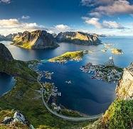 Пейзаж ШВЕЦІЯ Тури в Європу Автобусні тури в Скандинавію Клуб Мандрівників