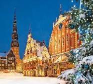 Освітлення ЛАТВІЯ Тури в Європу Автобусні тури в Прибалтику Клуб Мандрівників