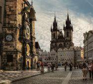 Годинник ЧЕХІЯ Екскурсійні туры в Европу Автобусні тури в Чехію Клуб Мандрівників