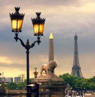 Ліхтар Париж ФРАНЦІЯ Тури в Європу Автобусні тури у Францію Клуб Мандрівників