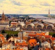 Річка Рига ЛИТВА  Тури в Європу Автобусні тури в Прибалтику Латвію Литву Естонію Клуб Мандрівників