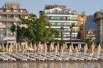 лежаки Мода Біч Хотел (MODA BEACH HOTEL) Мармарис (Marmaris) Туреччина Клуб Мандрівників